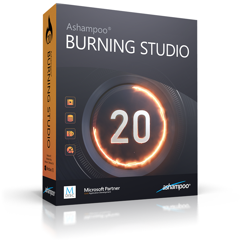 Ashampoo Burning Studio 20 Crack