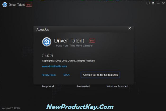 Driver Talent Pro Keygen
