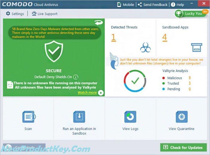 Comodo Antivirus Keygen Full