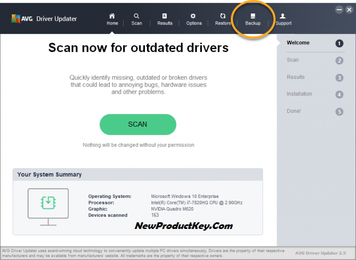 AVG Driver Updater Activation Key