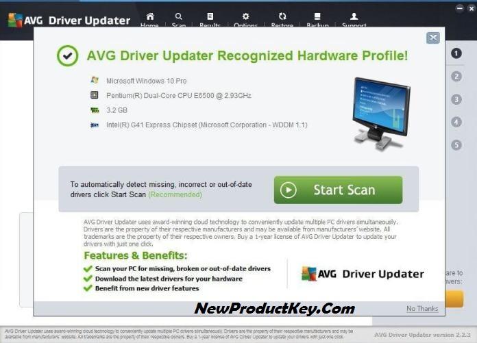 AVG Driver Updater Full Keygen