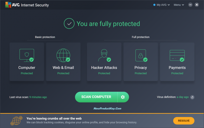 AVG Internet Security 2020 License Key