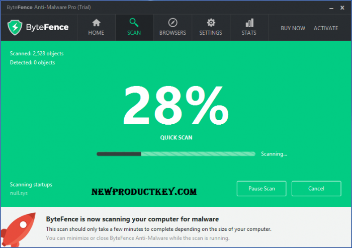 ByteFence Anti-Malware Pro 5.4.1.19 Crack + License Key 2020