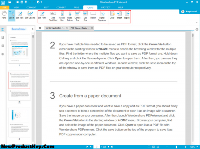 Wondershare PDFelement Pro Serial Key