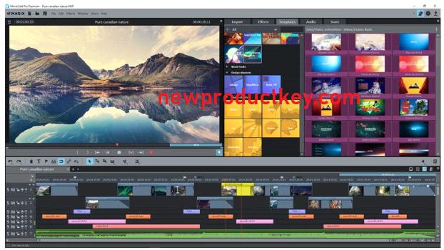 MAGIX Movie Edit Pro Full Crack