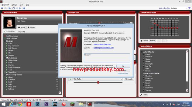 MorphVOX Pro Serial Key
