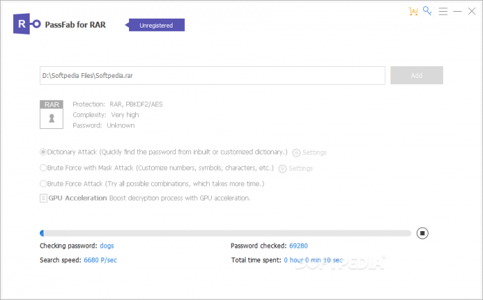 PassFab For RAR Serial Key